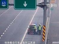 Житель Китая месяц возвращался домой на велосипеде в неверном направлении