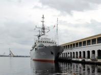 Американская береговая охрана обнаружила российский корабль у восточного побережья США