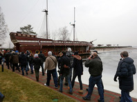 Киевский суд арестовал плавучий ресторан Януковича в Межигорье