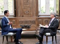 """Башар Асад заявил о готовности уйти с поста """"при наличии общественного согласия"""""""