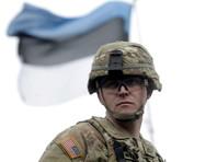 На эстонскую базу Тапа прибыла техника для американских пехотинцев