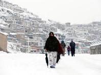 Более 50 человек погибли из-за морозов и лавин в Афганистане