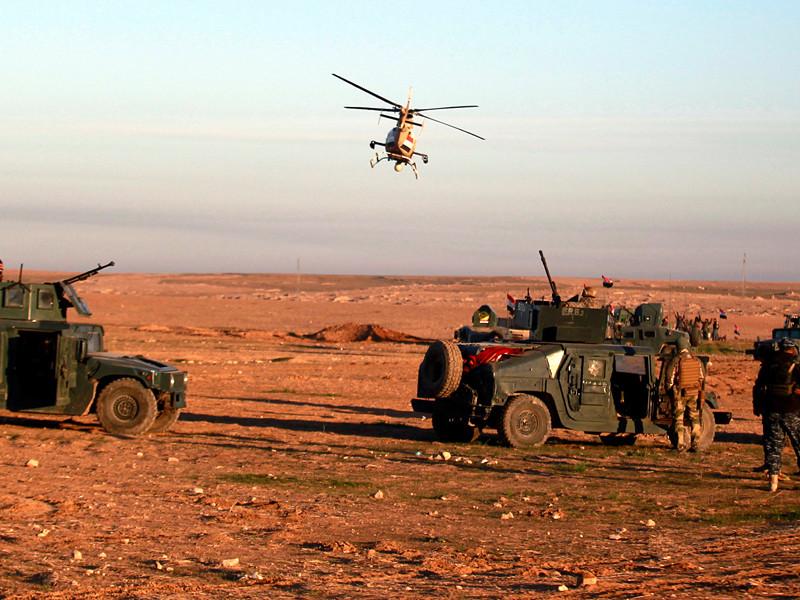 """Иракская армия в воскресенье утром начала операцию по освобождению западной части города Мосул от террористов """"Исламского государства"""" (ИГ, запрещенная в России террористическая организация)"""