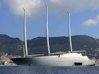 """Суд Гибралтара во вторник снял арест с крупнейшей в мире парусной яхты """"А"""", в начале февраля переданной владельцу - российскому миллиардеру Андрею Мельниченко. Ранее судно было арестовано за долги перед верфью"""