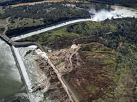 Трамп объявил ЧС в Калифорнии из-за угрозы прорыва высочайшей плотины США