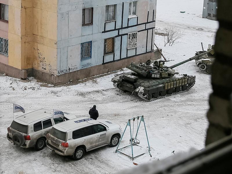 Авдеевка, 1 февраля 2017 года
