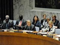 Совет Безопасности ООН призвал немедленно восстановить режим прекращения огня в Донбассе