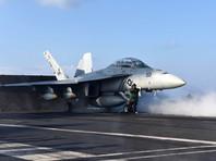 """Американский авианосец """"Джордж Буш"""" начал наносить удары по позициям ИГ в Сирии и Ираке"""