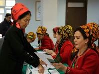 Центральная избирательная комиссия Туркменистана объявила о приближающейся к 100% явке в ходе воскресных выборов президента