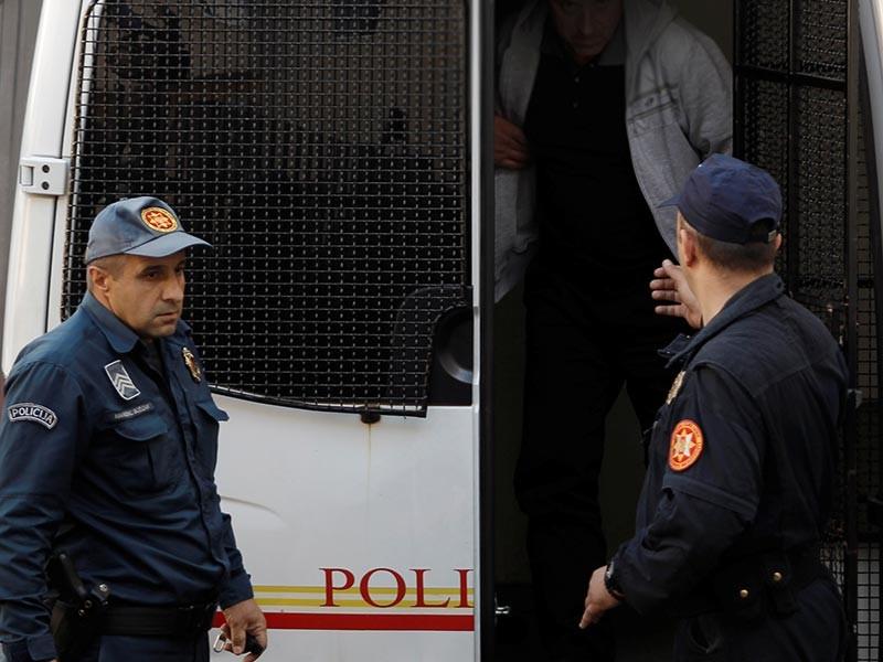 Пятеро подозреваемых в подготовке госпереворота во время парламентских выборов в Черногории подписали соглашение со спецпрокуратурой о признании вины