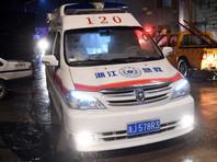 В Китае жертвами нападения троих преступников с ножами стали пять человек