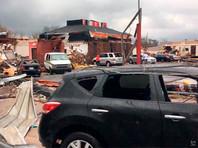 В американском штате Луизиана из-за серии  мощных торнадо ввели чрезвычайное положение (ВИДЕО)