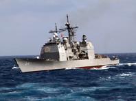 Крейсер ВМС США сел на мель в Токийском заливе