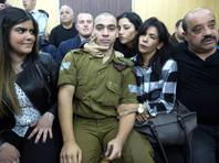 В Израиле военного приговорили к тюремному сроку за убийство палестинца, напавшего на его сослуживцев
