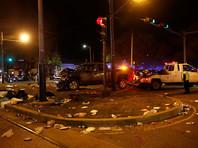 Водителя задержали, полиция утверждает, что он был пьян, и произошедшее не было терактом