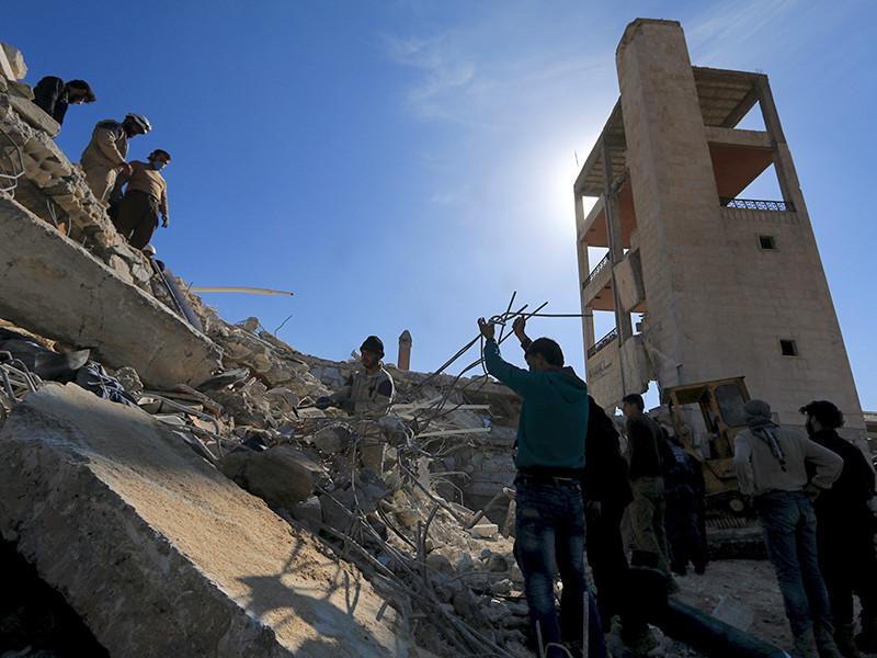 """Гуманитарная организация """"Врачи без границ"""" получила доказательства причастности российских и сирийских военных к авиаударам по больнице гуманитарной организации """"Врачи без границ"""" в городе Мааррат-эн-Нууман на севере Сирии, которые в феврале 2016 года унесли жизни 25 человек"""