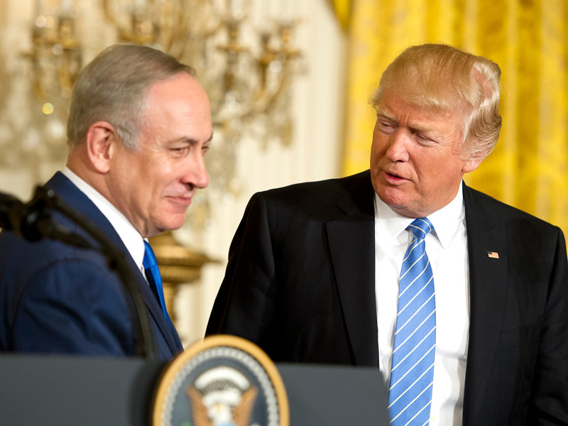 Трамп и Нетаньяху договорились активизировать усилия по противодействию угрозам от Ирана