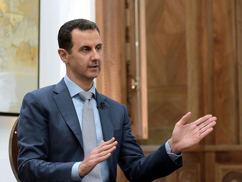 Президент Сирии Башар Асад заявил о готовности уйти с поста, если это будет необходимо для прекращения гражданской войны в его стране