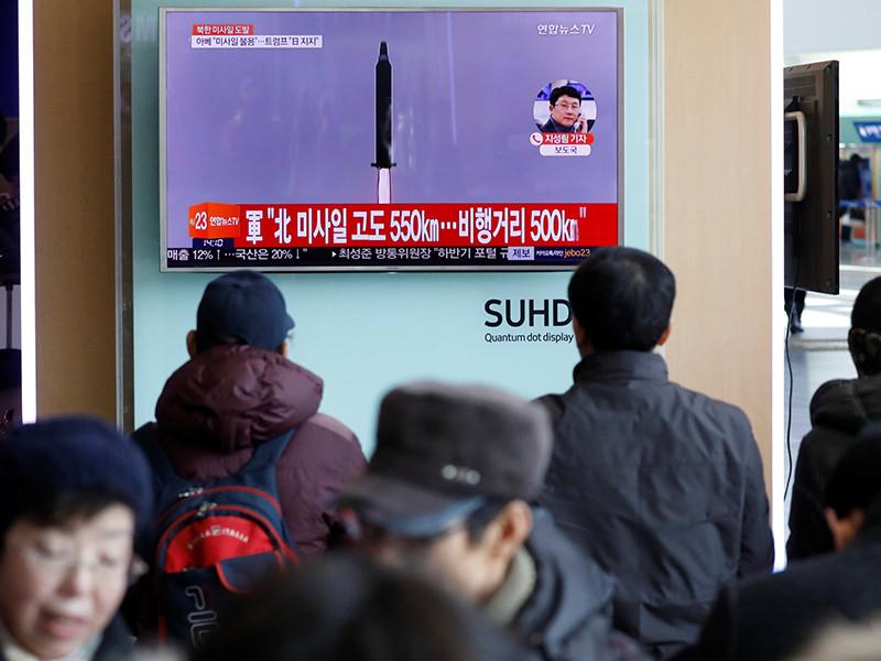 Запущенная КНДР ракета не была межконтинентальной. США намерены принять меры