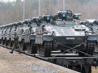 """Германия в рамках программы НАТО отправляет танки в Литву для """"сдерживания России"""""""