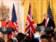 """Тереза Мэй пренебрегла """"сильными убеждениями"""" почти 2 млн британцев - противников визита Трампа"""