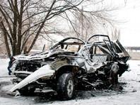 В Луганске взорвали автомобиль, погиб начальник управления милиции