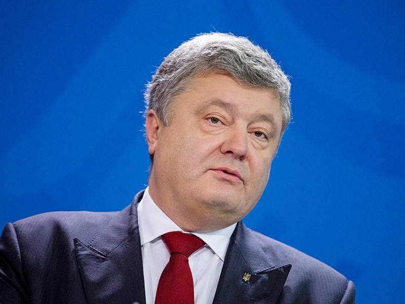 """Президент Украины Петр Порошенко заявил, что Киев не оставит """"сограждан"""" в Крыму без поддержки"""