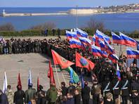 19 марта, о приезде делегации зарубежных политиков в Крым сообщил заместитель председателя комитета Госдумы по делам национальностей Руслан Бальбек