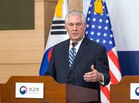 """Госсекретарь США заявил, что у Вашингтона иссякло """"стратегическое терпение"""" к КНДР"""