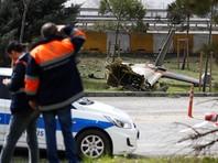 Вертолет вылетел из столичного аэропорта имени Ататюрка. По разным данным, на борту разбившегося вертолета находились до семи человек