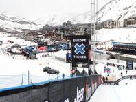 Во Франции лыжников на склоне накрыло лавиной