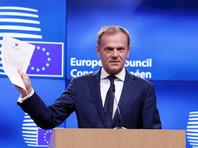 В соответствии со статьей  50 Лиссабонского договора письмо-уведомление, полученное Туском в присутствии журналистов, запускает двухлетний отсчет времени до Brexit
