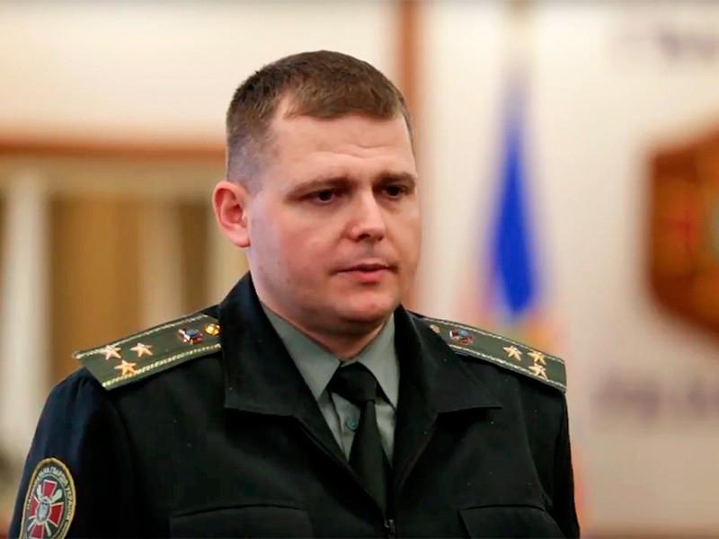 Пресс-секретарь командующего Нацгвардией Вадим Голуб
