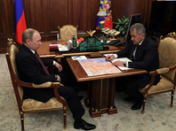 Об освобождении Пальмиры накануне, 3 марта, президенту России Владимиру Путину доложил министр обороны Сергей Шойгу