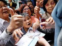 """59-летняя Кэрри Лам - бывший главный министр, человек """"номер два"""" в местной администрации"""