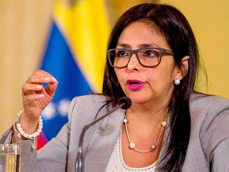 """Министр иностранных дел Венесуэлы Делси Родригес назвала президента Перу Педро Пабло Кучински """"трусом"""" и """"собакой"""", прислуживающим Соединенным Штатам"""