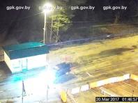 Неизвестные пытались прорваться через границу Украины и Белоруссии на автомобиле, груженном оружием