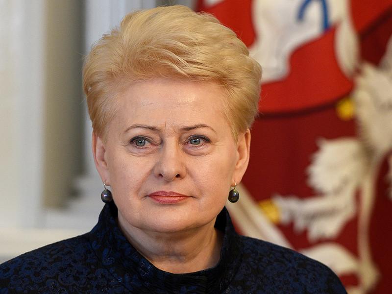 Президент Литвы Даля Грибаускайте назвала Россию угрозой для всей Европы