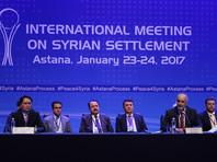 Первый раунд переговоров по Сирии с участием России, Турции и Ирана проходил в Астане 23-24 января. Тогда страны-гаранты договорились о трехстороннем механизме контроля за режимом прекращения огня в Сирии