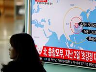 КНДР объяснила ракетные испытания отработкой потенциальных ударов по военным базам США
