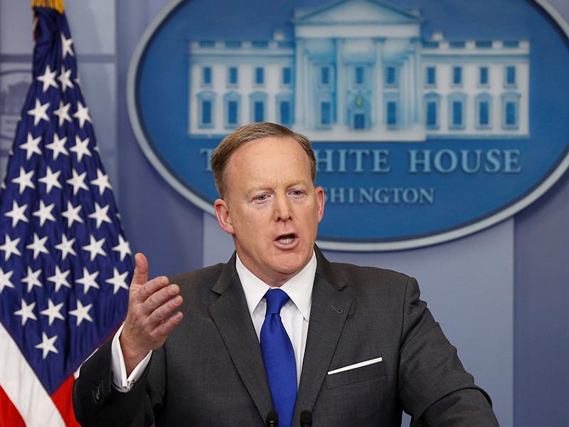 """""""Вести расследование и иметь доказательства - это разные вещи"""", - заявил пресс-секретарь Белого дома Шон Спайсер"""