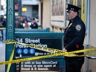 На железнодорожном вокзале в центре Нью-Йорка столкнулись два поезда