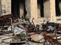Более 40 человек погибли от авиудара по мечети в Алеппо