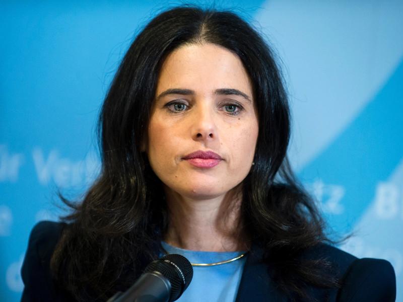 Министр юстиции Израиля Айлете Шакед