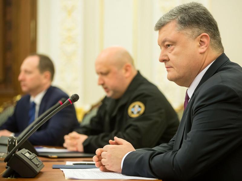Совет национальной безопасности и обороны Украины поддержал временное прекращение транспортного сообщения с неподконтрольными территориями Донецкой и Луганской областей