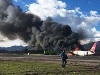 В Перу во время посадки загорелся пассажирский Boeing: есть пострадавшие