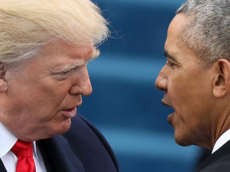 Президент США Дональд Трамп вновь разразился критикой в адрес своего предшественника, демократа Барака Обамы, обвинив его в слабости