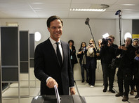 Партия премьер-министра Рютте лидирует на парламентских выборах в Нидерландах