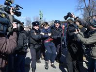 """""""Репортеры без границ"""" потребовали от властей РФ наказать полицейских за задержания журналистов на антикоррупционных митингах"""