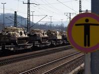 В Эстонию прибыла техника французской части батальона НАТО